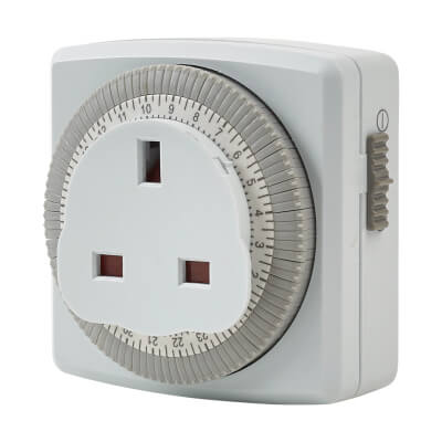 Timeguard 24 Hour Plug In Timer  - Segment)