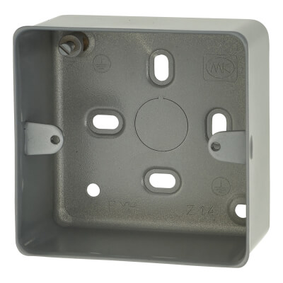 MK 1 Gang 41mm Surface Box with Knockout