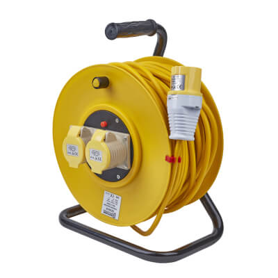 16A 110V Extension Reel - 50m)