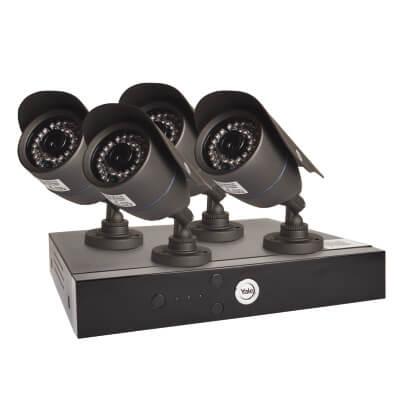 Yale Easy Fit HD 4 Camera CCTV Kit