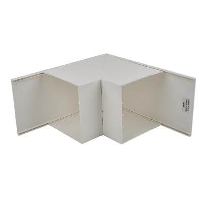 Univolt Maxi Trunking External Angle -150 x 150mm - White