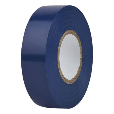 Directa 19mm Roll PVC Tape - 20m - Blue)