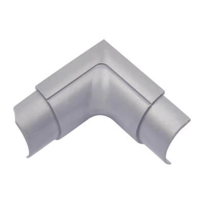 D-Line Internal Bend - 30 x 15mm - Aluminium)