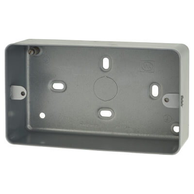 MK 2 Gang 41mm Surface Box without Knockouts