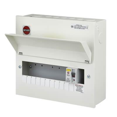 Wylex 100A 30mA Consumer Unit - 11 Way)