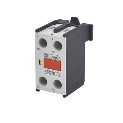 Lovato 10A Auxiliary Contact - 2 Normally Closed)