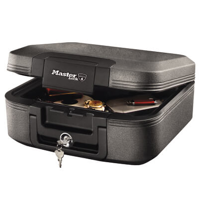 Masterlock Fire Security Chest - 30 Minutes - 363 x 391 x 168mm)