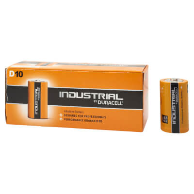 Duracell Procell Batteries - D Type - Pack 10)