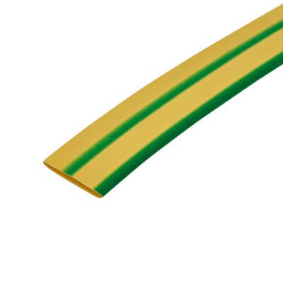 12.7mm Heat Shrink - Green/Yellow