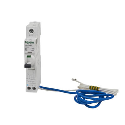 Schneider Acti 9 Isobar 6A 30mA Single Pole 3 Phase RCBO - Type C)