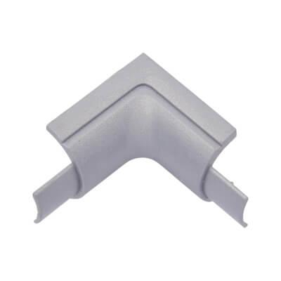 D-Line Internal Bend - 16 x 8mm - Aluminium