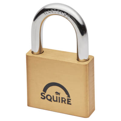 Squire Lion Open Shackle Padlock - 50mm)