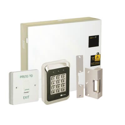Deedlock Standalone Access Control Kit, Keypad with Electric Strike )