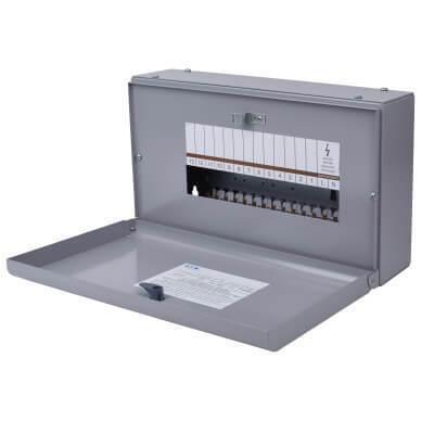 Eaton MEM 125A 13 Way Single Phase Distribution Board - Type A)