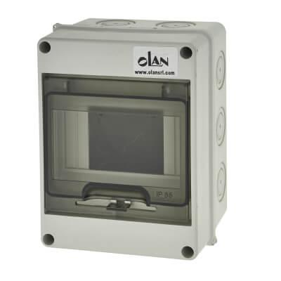 PVC IP66 Enclosure - 4 Way