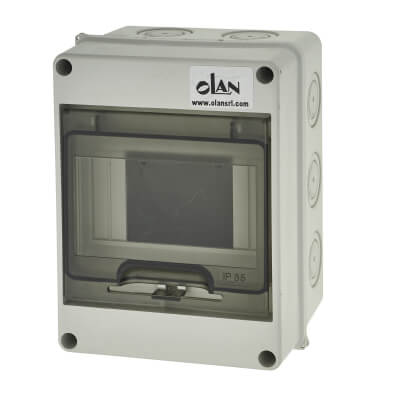 PVC IP66 Enclosure - 4 Way)