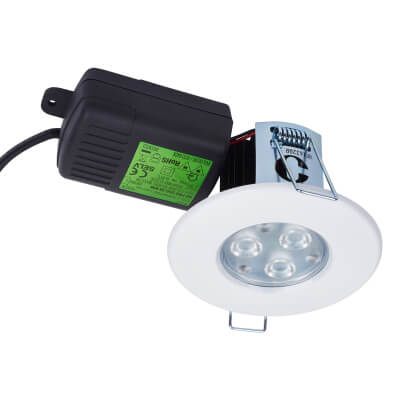 Halers H2 PRO 550 LED Downlight 4000K 38° - Dimmable - IP65 - Neutral White)
