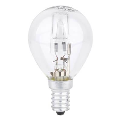 28W SES Golf Ball Lamp - Warm White)
