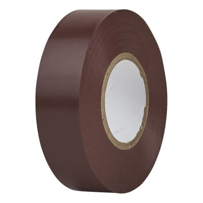 Directa 19mm Roll PVC Tape 20m - Brown