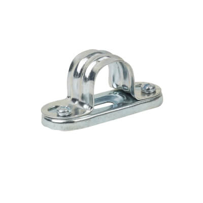 Steel Conduit Spacer Bar Saddles - 20mm - Galvanised)