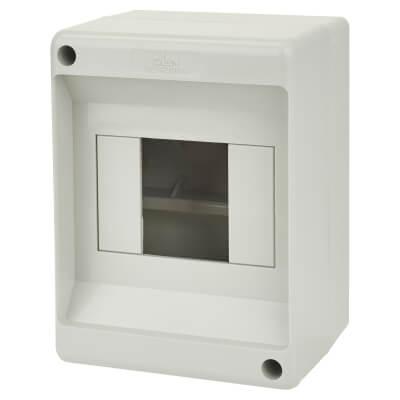 Lewden PVC Enclosure - 4 Module