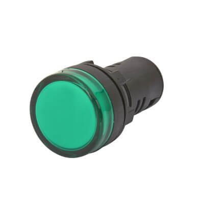 Lewden 22mm Pilot Light - Green)