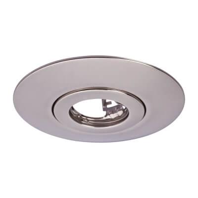 GU10 Conversion Downlight Plate - Stainless Steel)
