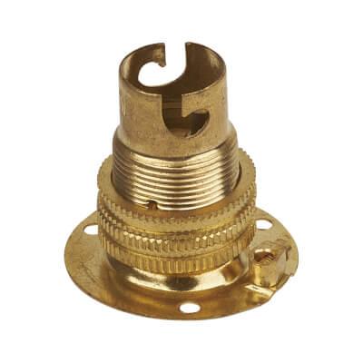 Batten SBC Lampholder - Brass)
