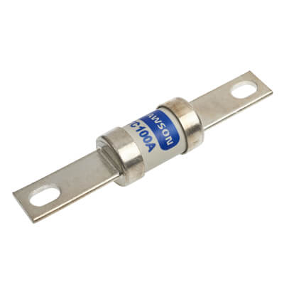 100A 400/415V TC Central Tag Industrial Fuse-Links with Bolt Connections)