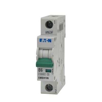 Eaton MEM 6A Single Pole 3 Phase MCB - Type B)